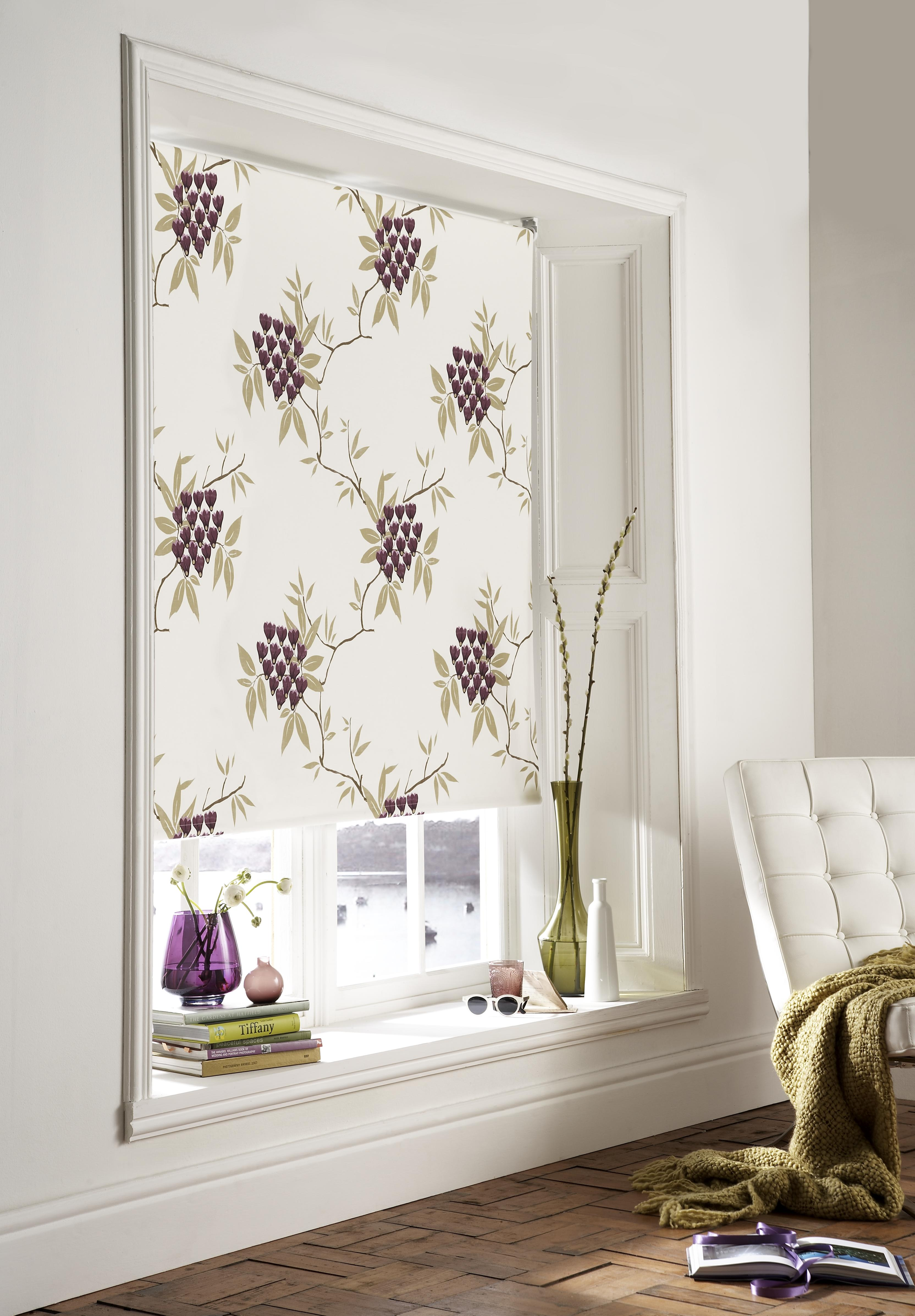 Roller Blinds With Designs : Blackout blinds the unsung heroes of interior design