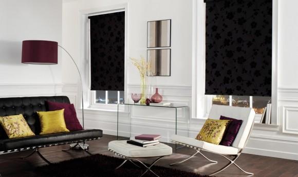 Living Room Blackout Roller Blind